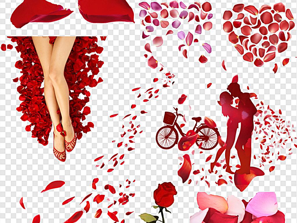 粉色花瓣樱花花瓣梅花花瓣桃花花瓣浪漫漂浮