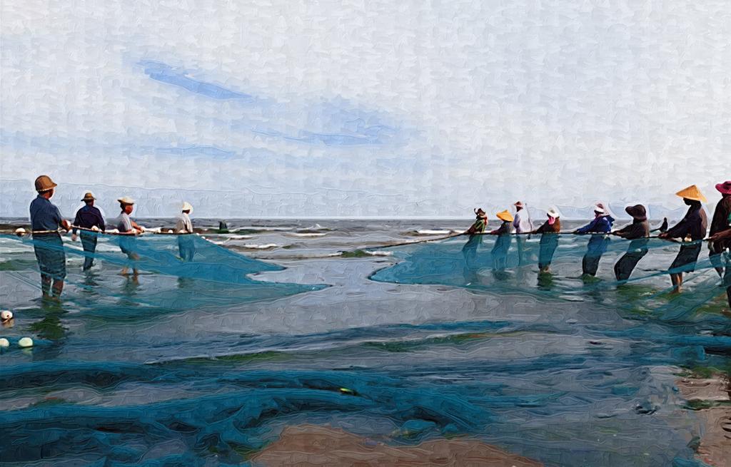 彩海边风景画简单_    海景水彩风景画海边装饰画