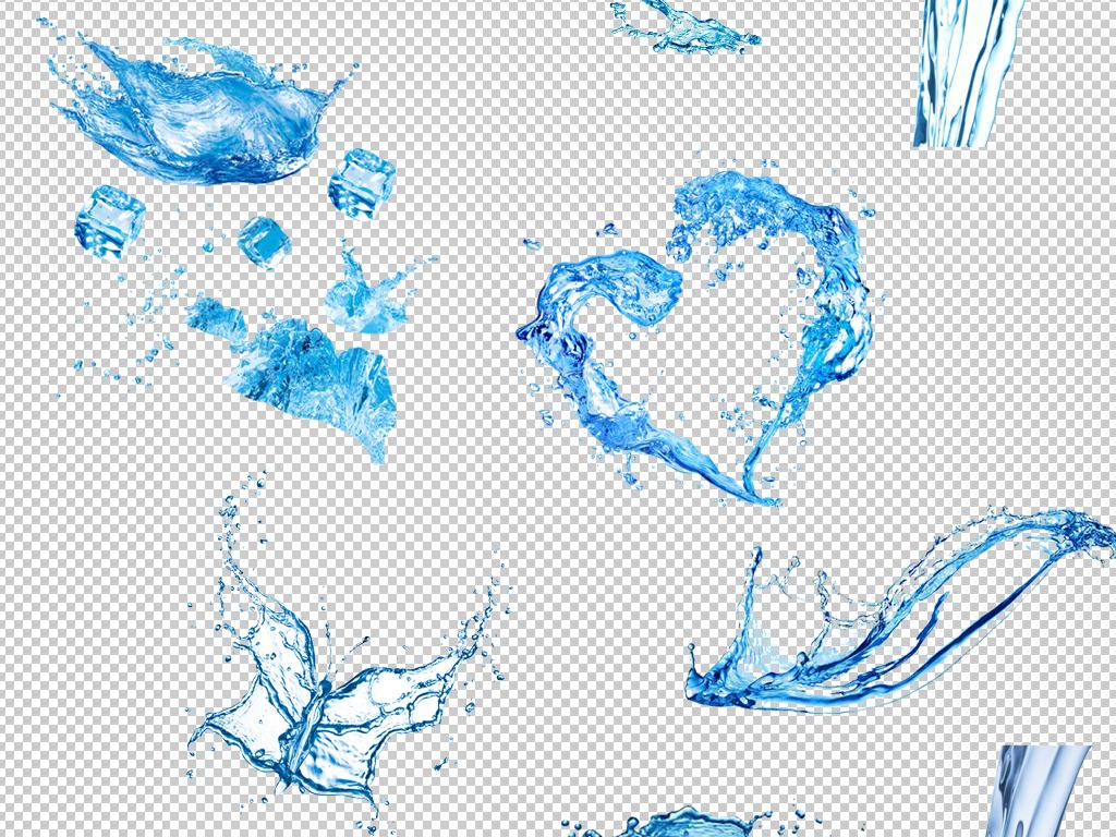 精品水素材水元素水图片免抠psd分层素材