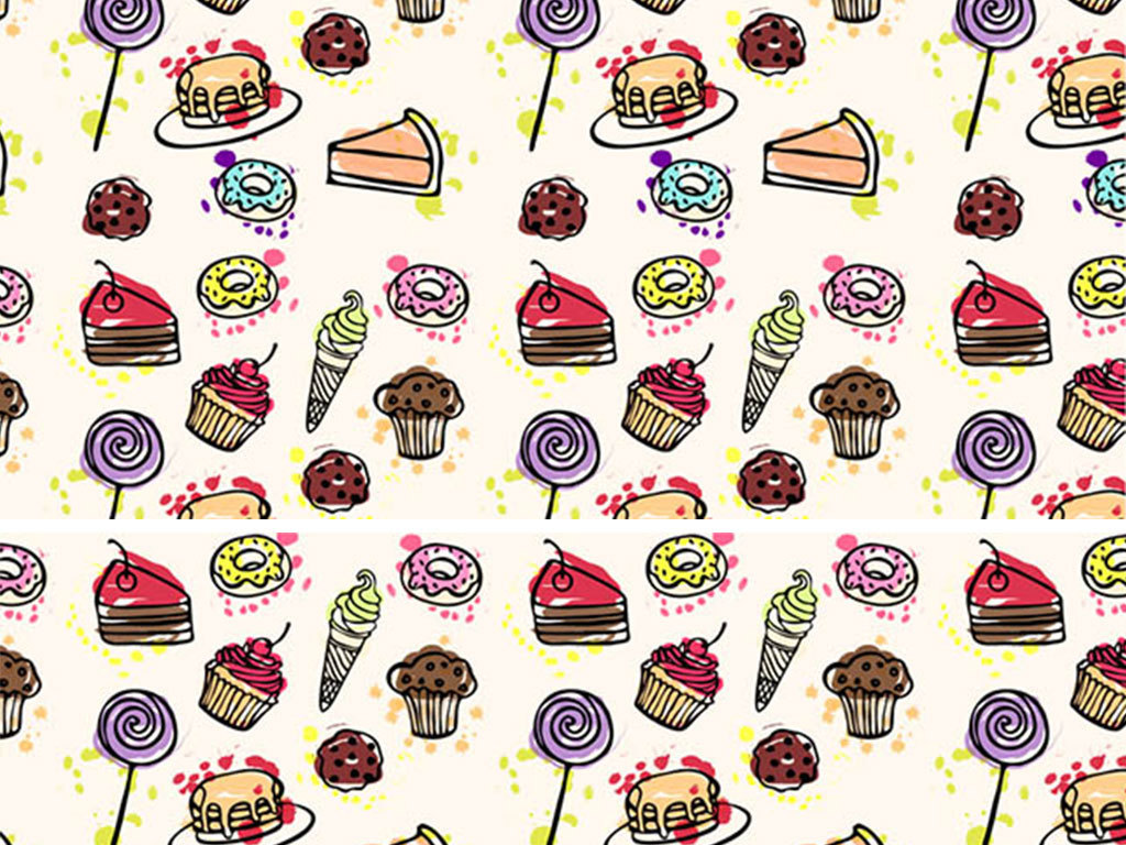 我图网提供精品流行食品甜点高清背景矢量图素材下载,作品模板源文件可以编辑替换,设计作品简介: 食品甜点高清背景矢量图 矢量图, RGB格式高清大图,使用软件为 Illustrator CS6(.ai) 卡通 手绘