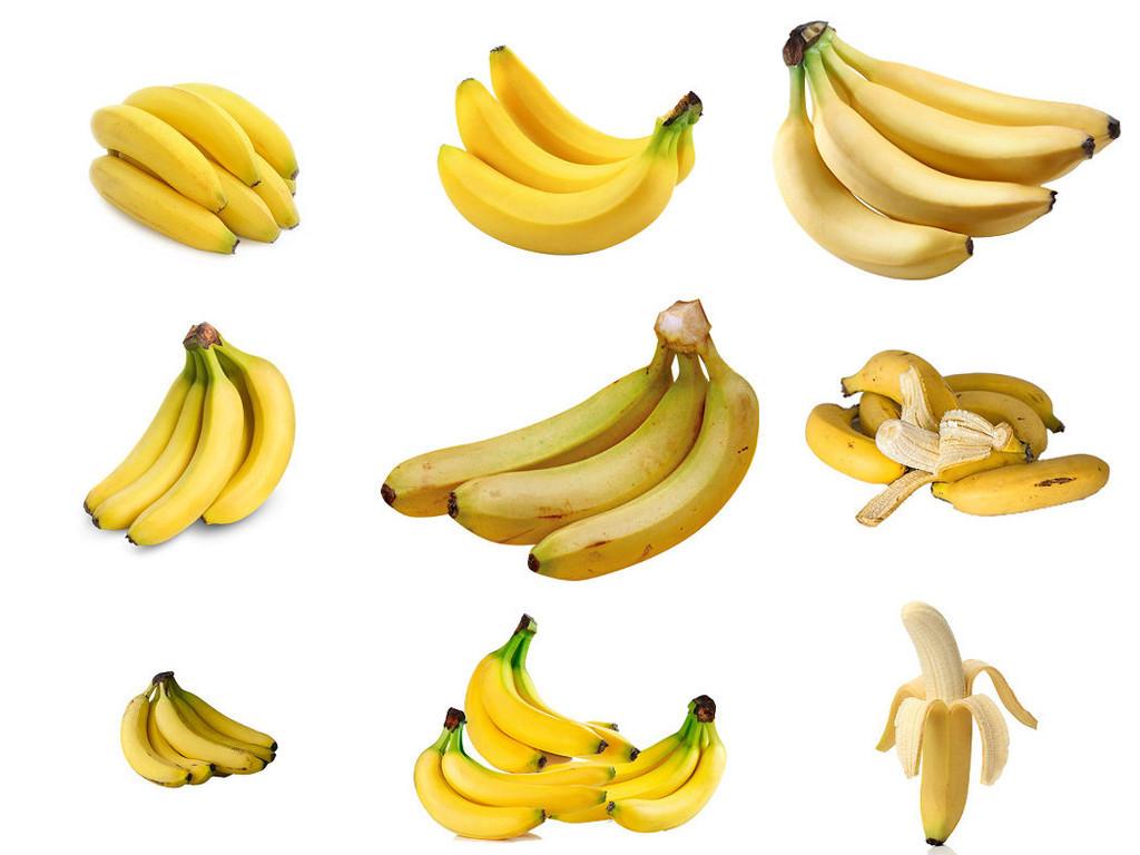 新鲜香蕉ps元素素材免抠图