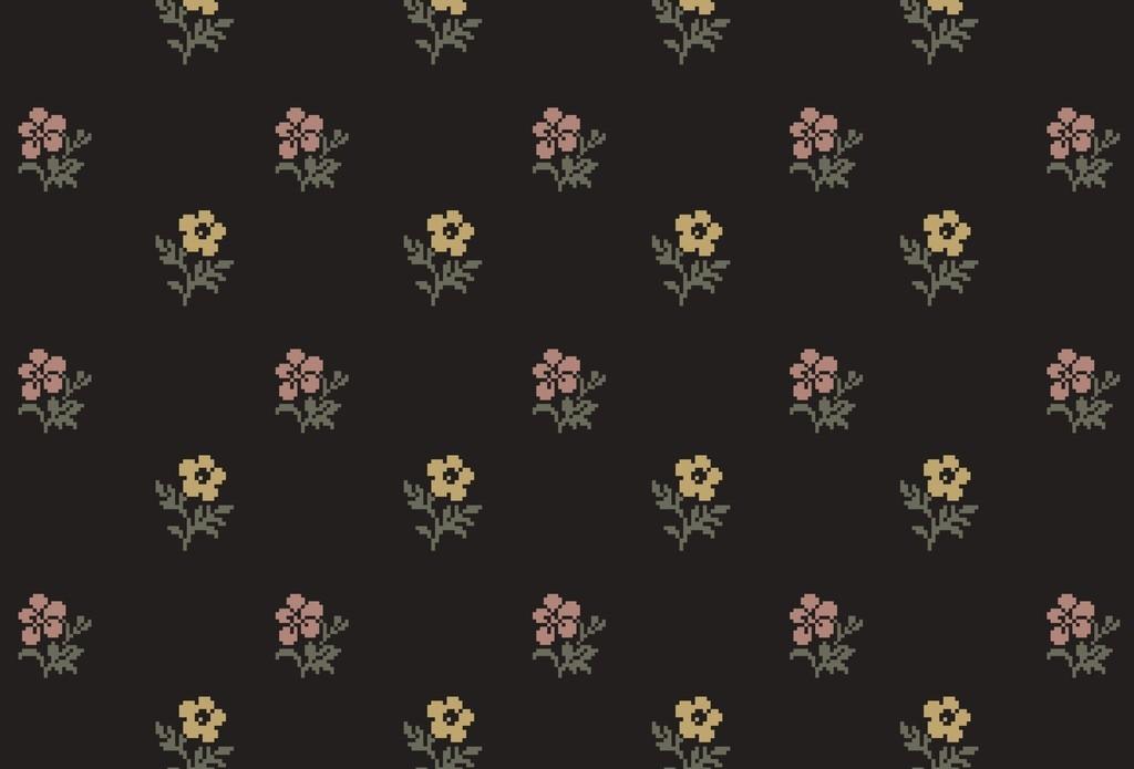 植物花卉抱枕图案设计
