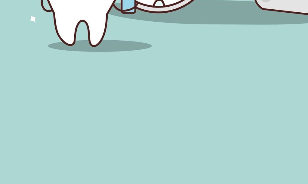 背景素材卡通图案手机壳图案设计杯子图案产品图案爱护牙齿宣传海报