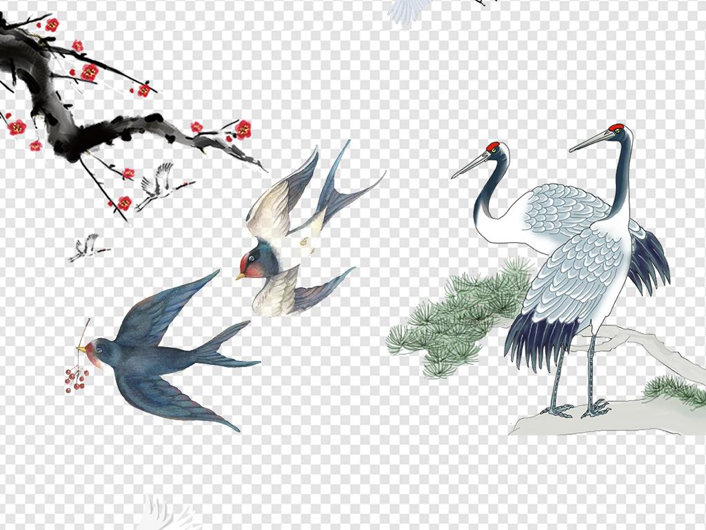 动物中国风logo