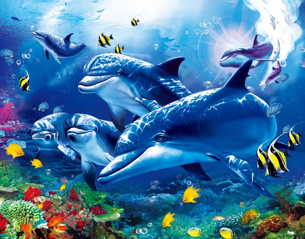 3d立体海底世界