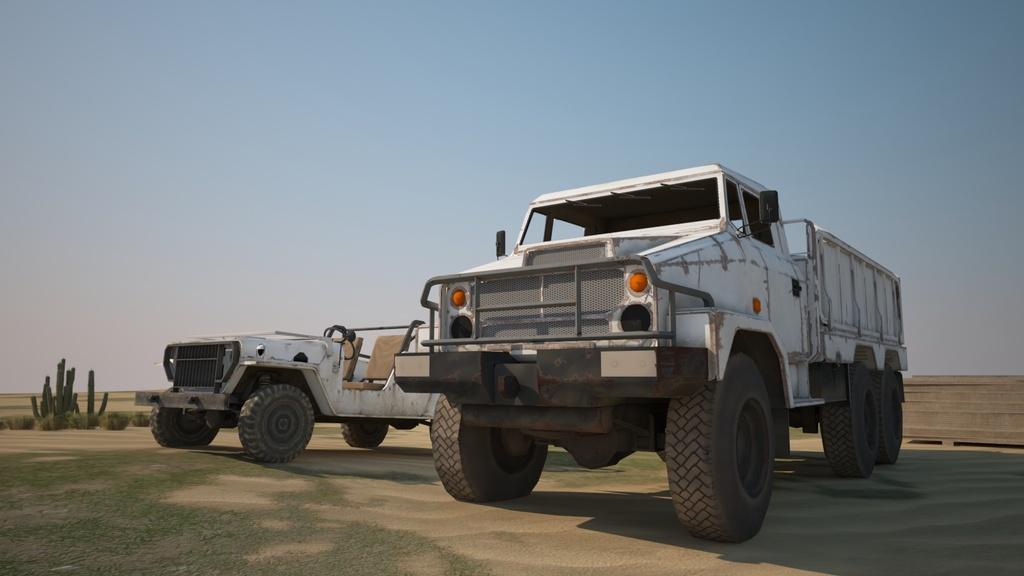 越野卡车吉普车3d模型图片素材参数 编号 : 16215673 软件 : 3dmax 2