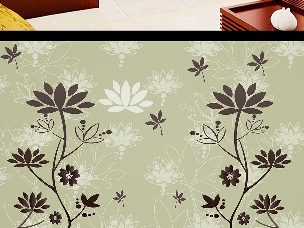 背景墙 装饰画 电视背景墙 3d电视背景墙 > 黑色花纹欧式花纹彩雕电视
