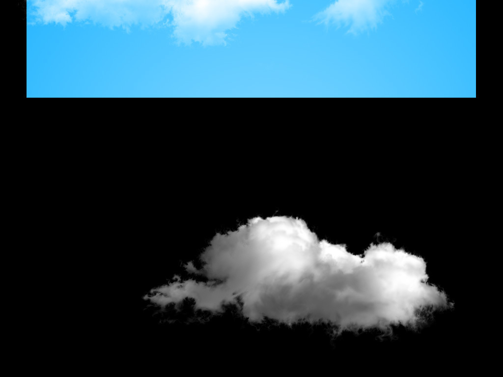 ps云朵素材免抠图300像素高清