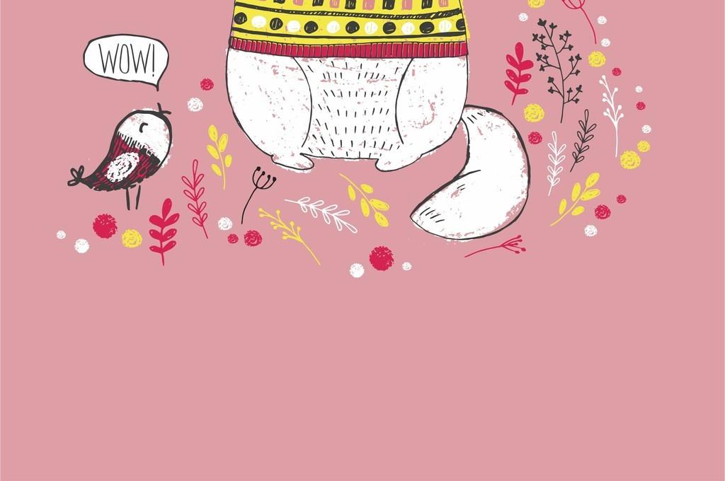 动物卡通花草手绘图案手抄报图案手的图案3d手绘图案