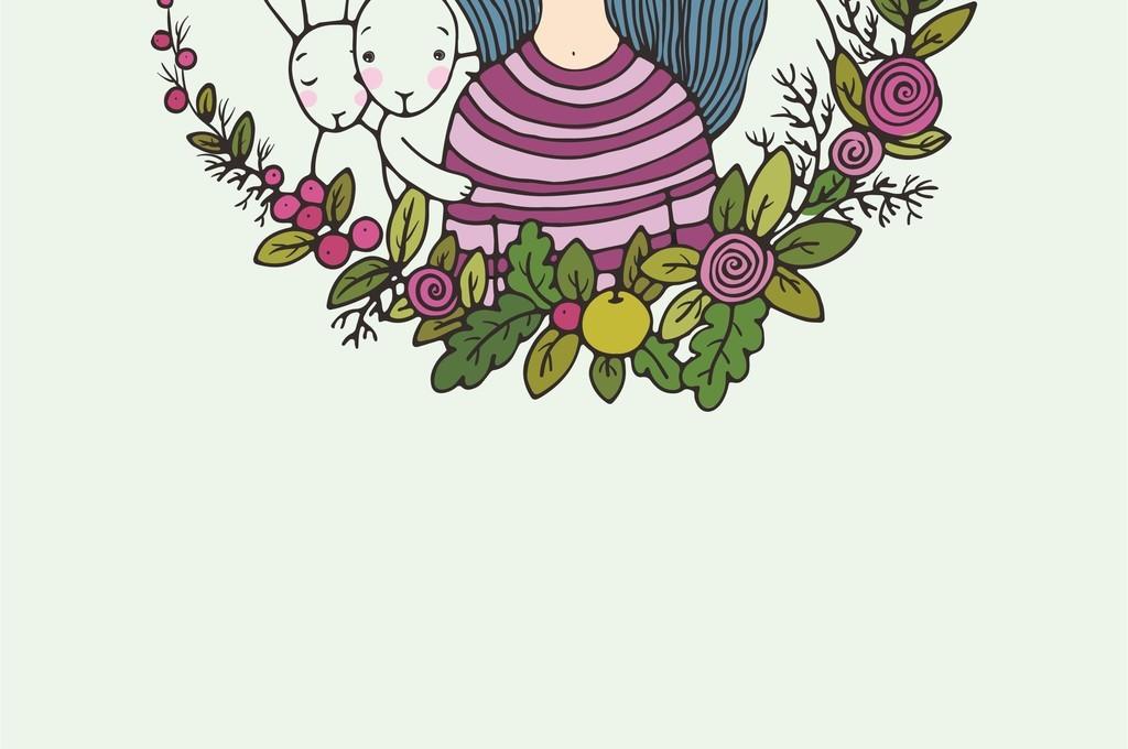 花卉卡通手矢量卡通手卡通手绘卡通手形卡通手图片