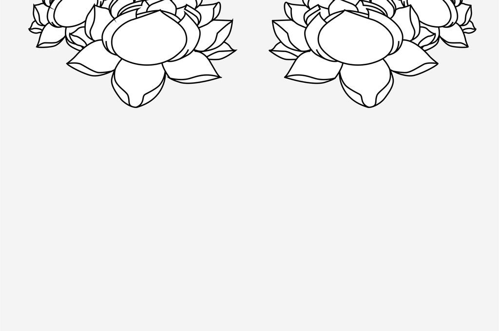 植物花卉手绘花卉