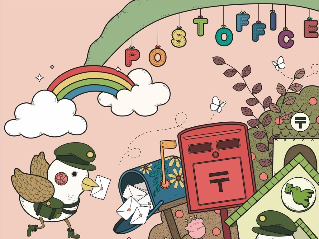 卡通图案卡通动物鳄鱼鸟儿童课本封面设计