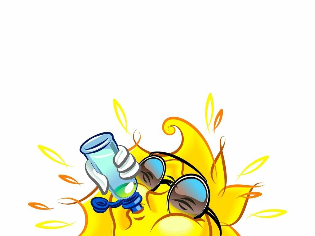 卡通太阳小清新背包儿童用品印花图案