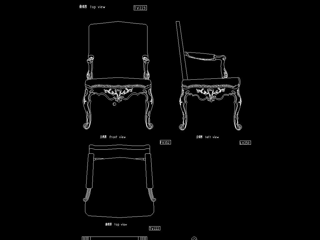 12套欧式家具cad设计方案平面图下载(图片2.17mb)__全