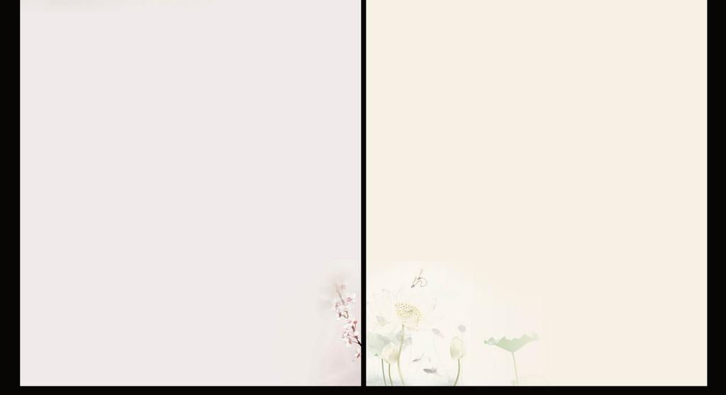 word小清新唯美信纸作文海报背景素材下载,作品模板源文件可以编辑图片