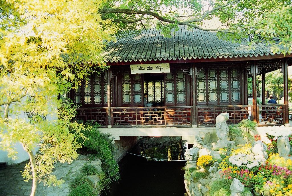 园林建筑绿化古代庭院古宅苏州园林