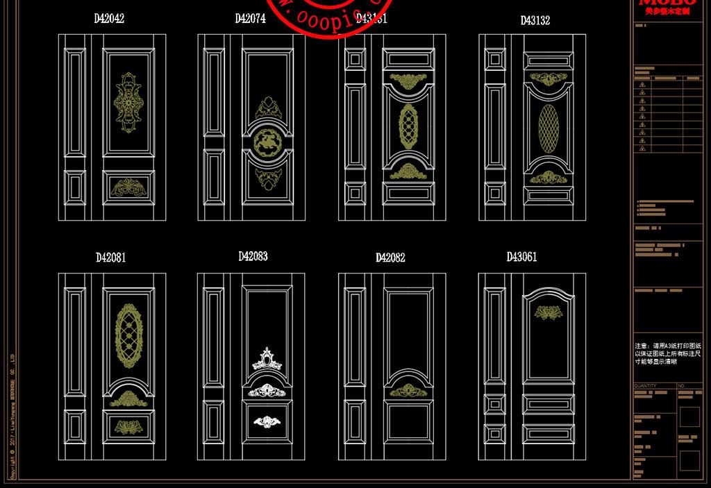 酒柜酒窖岛台浴室柜欧式法式美式中式家具线条花纹罗马柱实木门标准