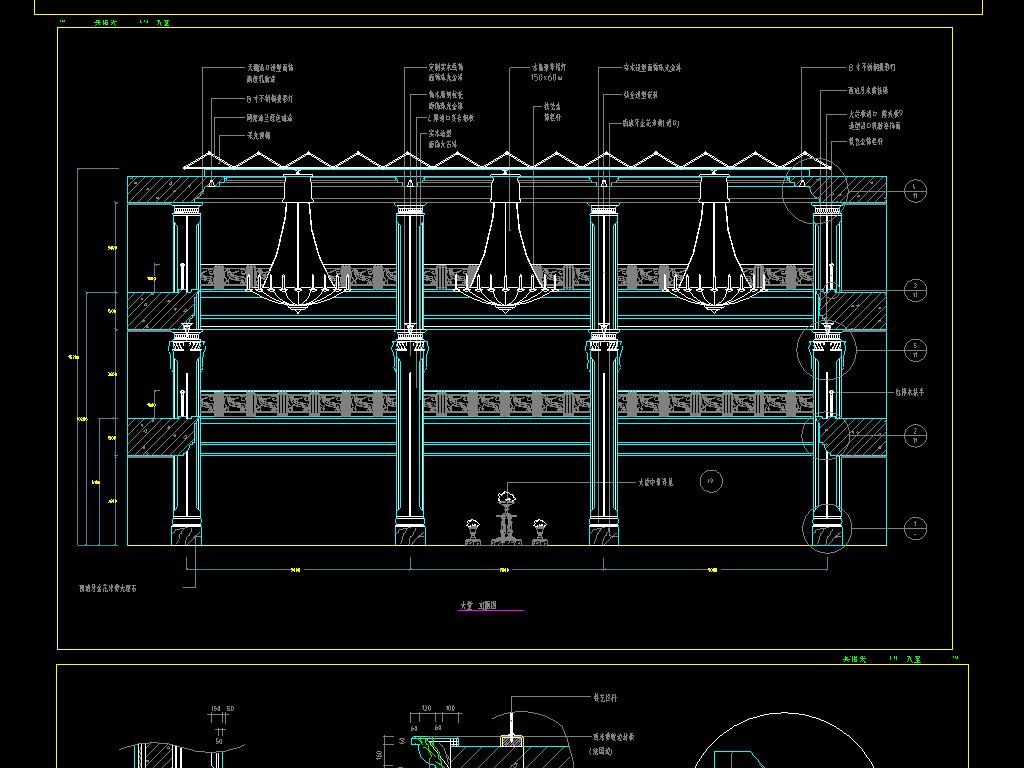 cad酒吧装修设计图平面图下载(图片3.08mb)_spa休闲图