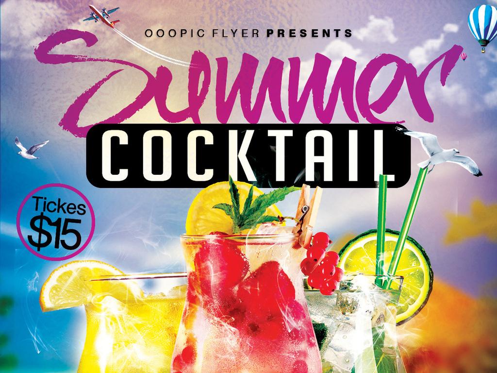 平面|广告设计 海报设计 国外创意海报 > 多彩时尚鲜榨果汁冰镇饮料