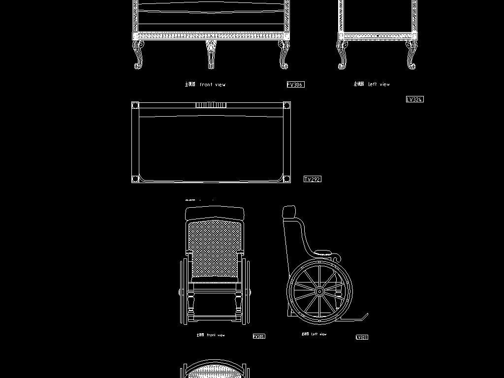 我图网提供精品流行 10套欧式家具CAD设计图素材 下载,作品模板源文件可以编辑替换,设计作品简介: 10套欧式家具CAD设计图, , 使用软件为 AutoCAD 2006(.dwg) 椅凳类 沙发椅 家具设计图纸 椅子 凳子 欧式家具CAD设计图 中式家具 古典家具 复古 木制家具 整木家具 家具CAD节点祥图 构造图 结构示意图 施工图 大样图 设计图