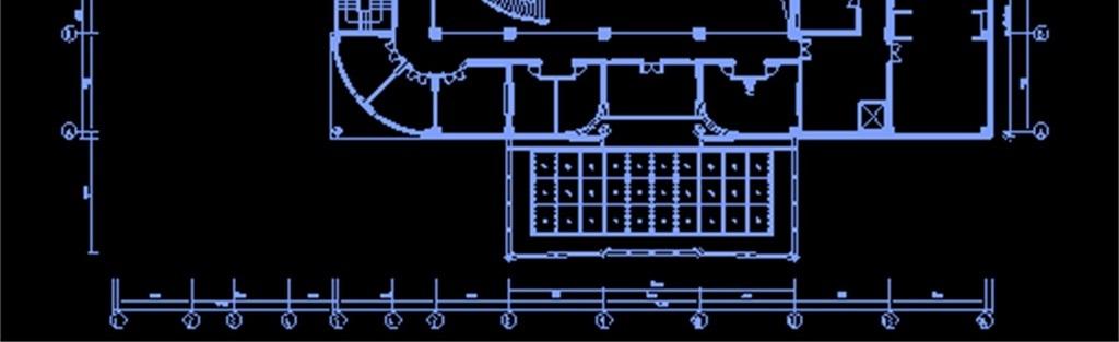 小餐厅CAD平面设计图