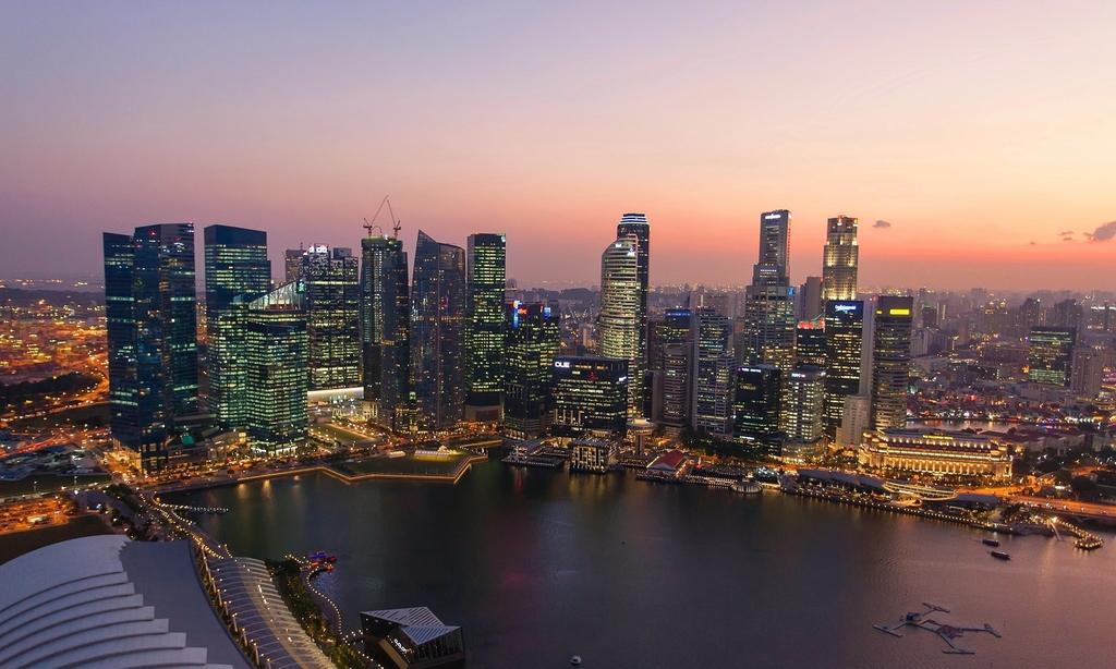 世界著名城市夜景风景建筑壁纸素材