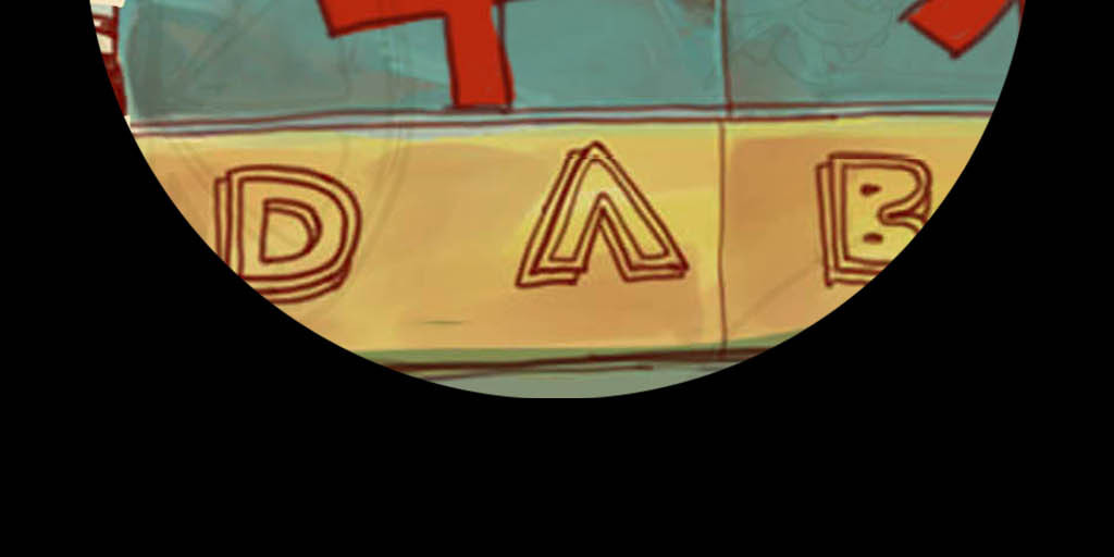 欧美手绘水果店背景墙