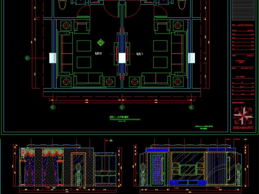 我图网提供精品流行 整套KTV室内装修CAD设计图素材 下载,作品模板源文件可以编辑替换,设计作品简介: 整套KTV室内装修CAD设计图, , 使用软件为 AutoCAD 2007(.dwg) 娱乐会所 娱乐中心 夜店 休闲会所 娱乐城 歌舞厅 俱乐部 夜总会 夜场 音乐会所 KTV量版式CAD室内装修 KTV量版式CAD施工图 KTV量版式CAD平面布置 室内装修 设计图 装修设计图