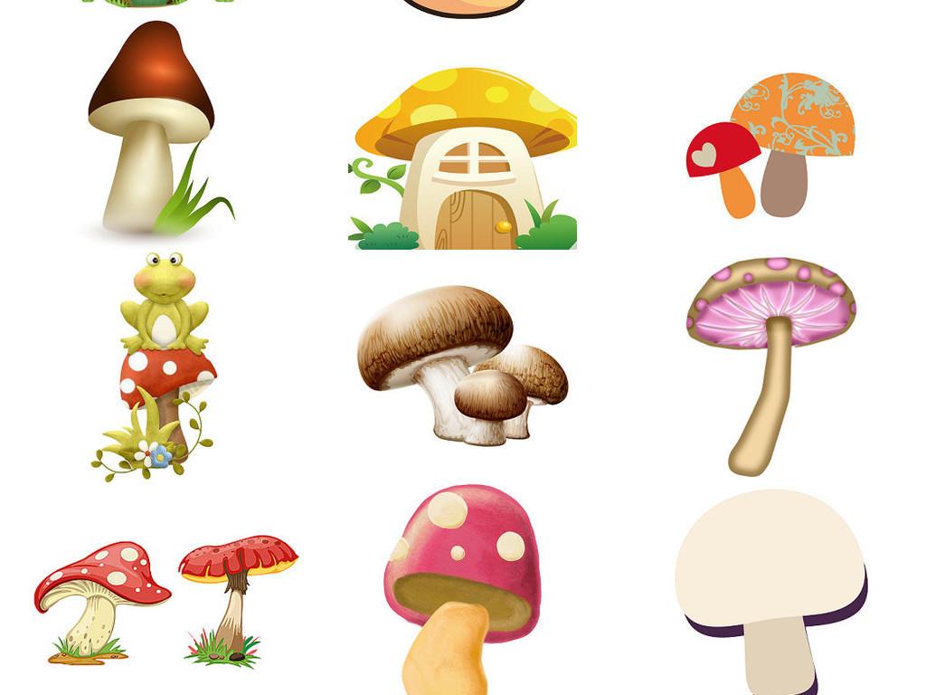 可爱蘑菇卡通图片大全