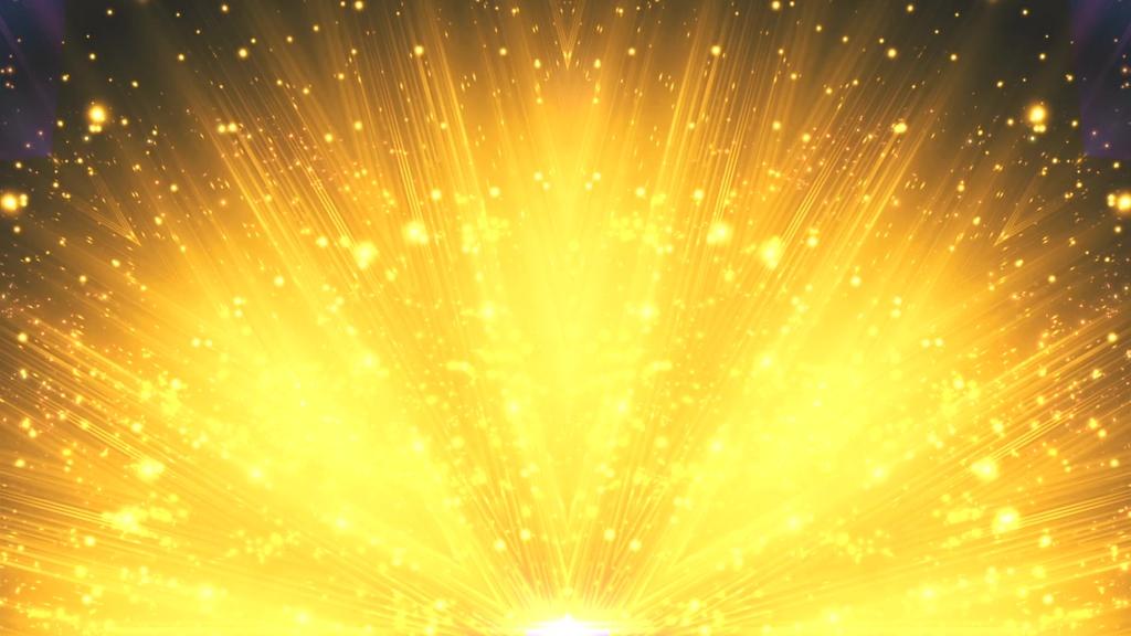 大气金色粒子led舞台背景图片