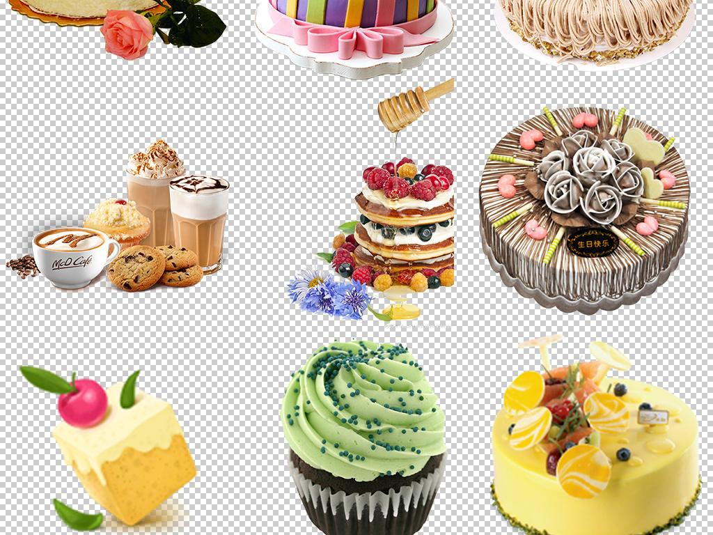 漂亮的动物行蛋糕图片