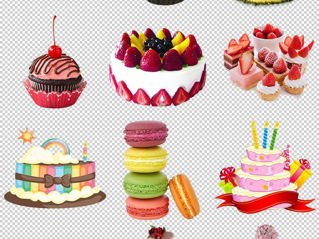 蛋糕甜点蛋糕的小花小蛋糕图片卡通小蛋糕小动物生日蛋糕小动物蛋糕