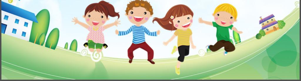 可爱卡通小学幼儿园新学期家长会ppt动态模板图片