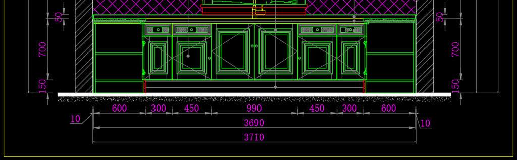 台岛台线条罗马柱卫浴屏风设计橱柜实木橱柜欧式橱柜设计方案欧式实木