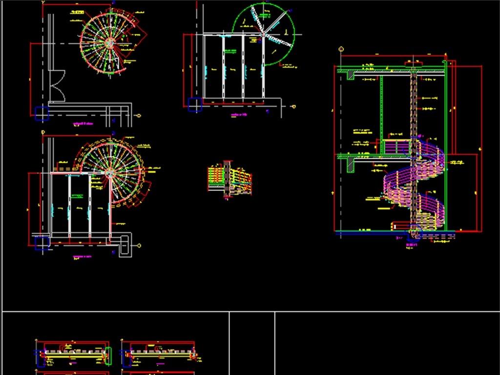 我图网提供精品流行钢螺旋楼梯CAD施工图素材下载,作品模板源文件可以编辑替换,设计作品简介: 钢螺旋楼梯CAD施工图,,使用软件为 AutoCAD 2006(.dwg) 钢结构楼梯施工图 钢结构楼梯CAD平面图 螺旋楼梯CAD设计图 螺旋楼梯CAD立面图 楼梯CAD设计图 旋转楼梯CAD设计图 楼梯CAD建筑图 楼梯节点图 楼梯 螺旋 施工图