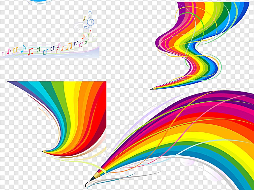 彩虹糖                                  手绘彩虹