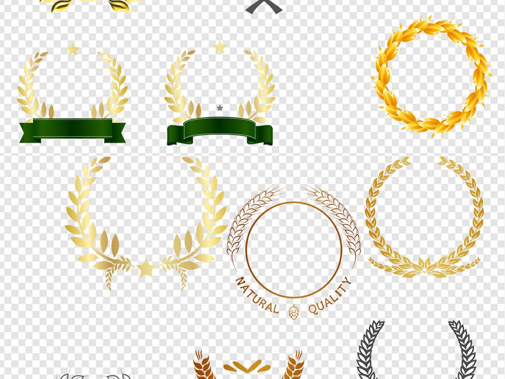 手绘徽章图案设计