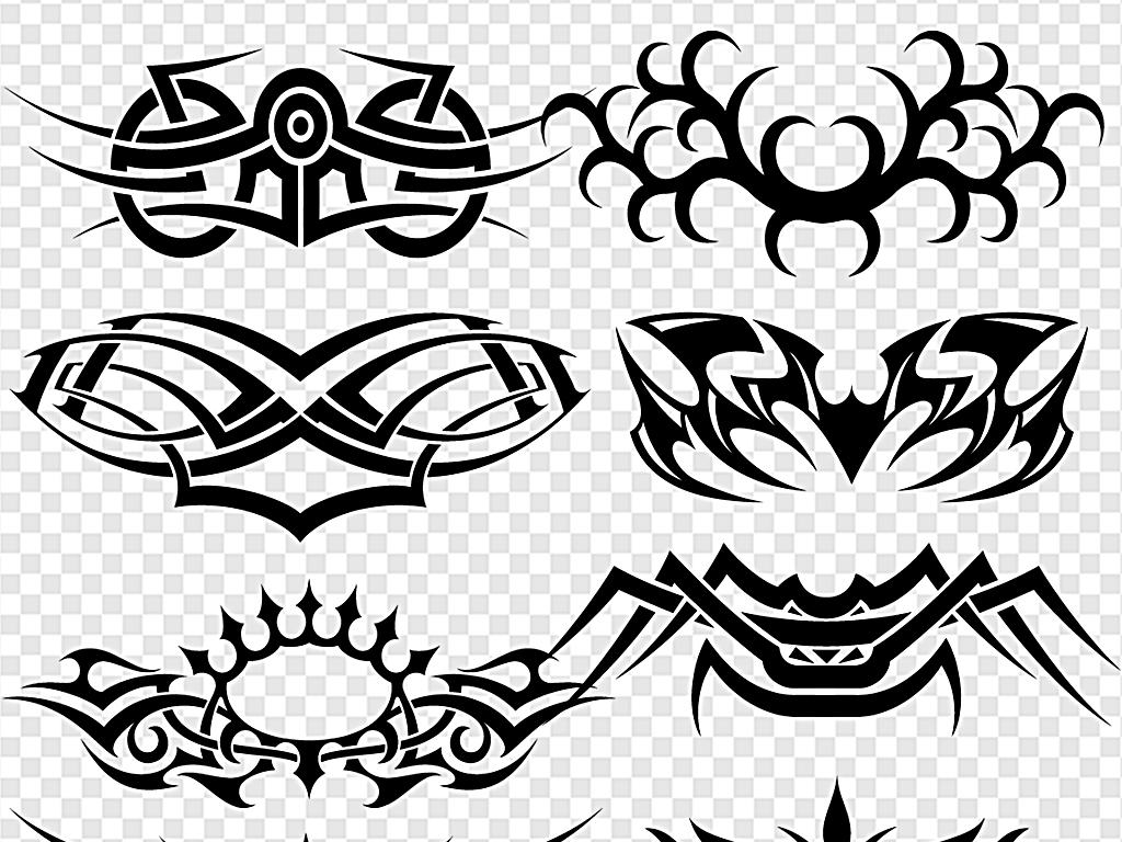 纹身图案彩色纹身小纹身龙纹身