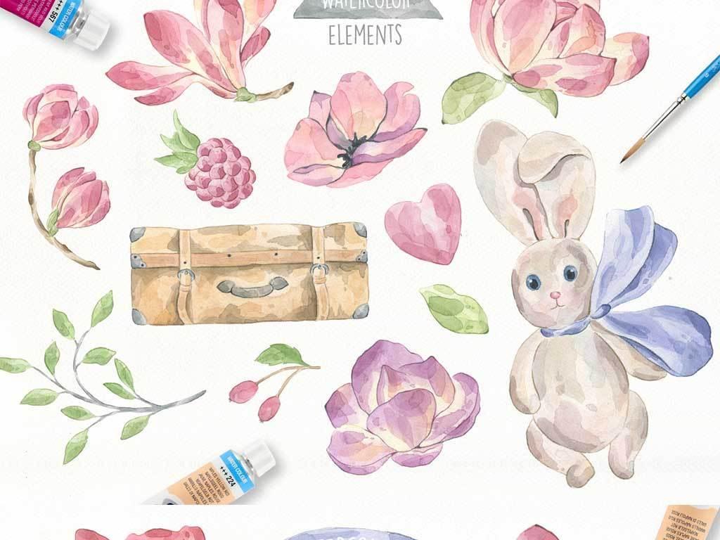 50款手绘卡通装饰背景素材(图片编号:16289392)_动物
