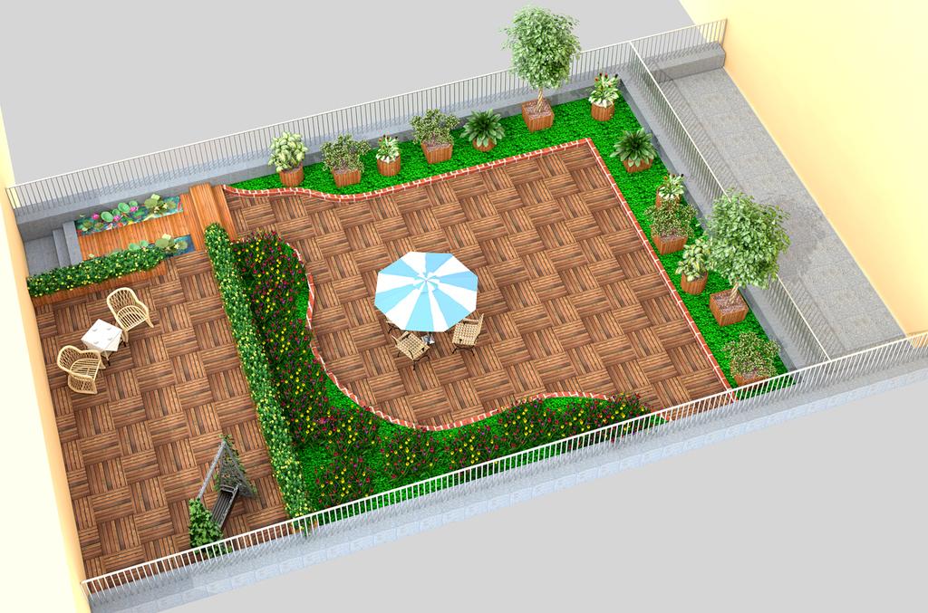 """树木绿化树校园绿化绿化平面图 【本作品下载内容为:""""阳台绿化效果图"""""""