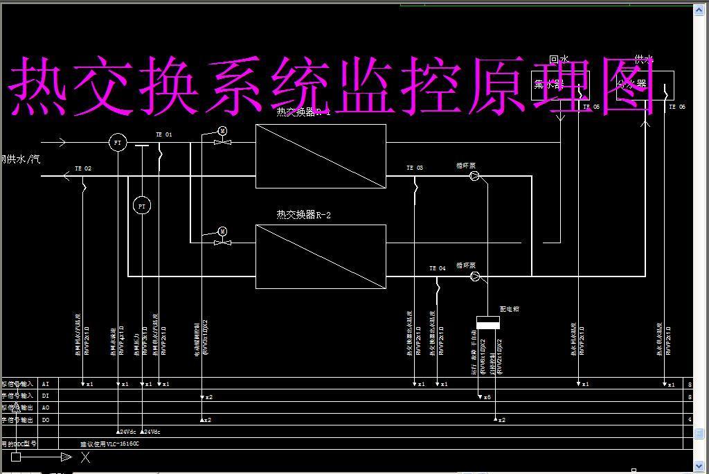 常用标准弱电cad系统控制图纸平面设计图下载(图片1.