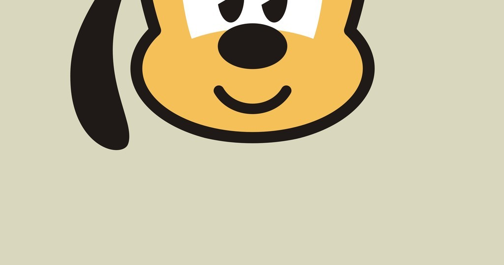 卡通动物矢量图小狗