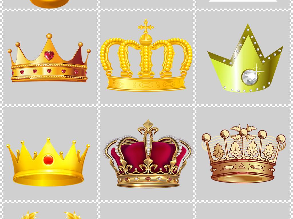手绘简单王冠图片