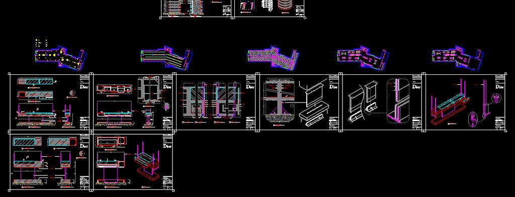布局规划建筑图效果图服装店室内装修cad专卖店服装专卖店cadcad家具