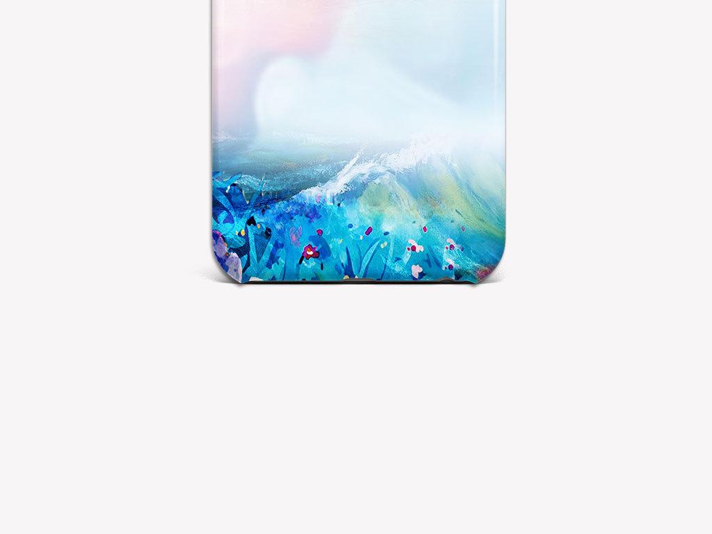 天空水彩梦幻手绘图案手抄报图案手的图案3d手绘图案手机壳设计手机壳