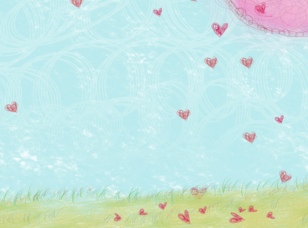 电视背景墙 手绘电视背景墙 > 时尚北欧爱心树爱情浪漫可爱唯美儿童房