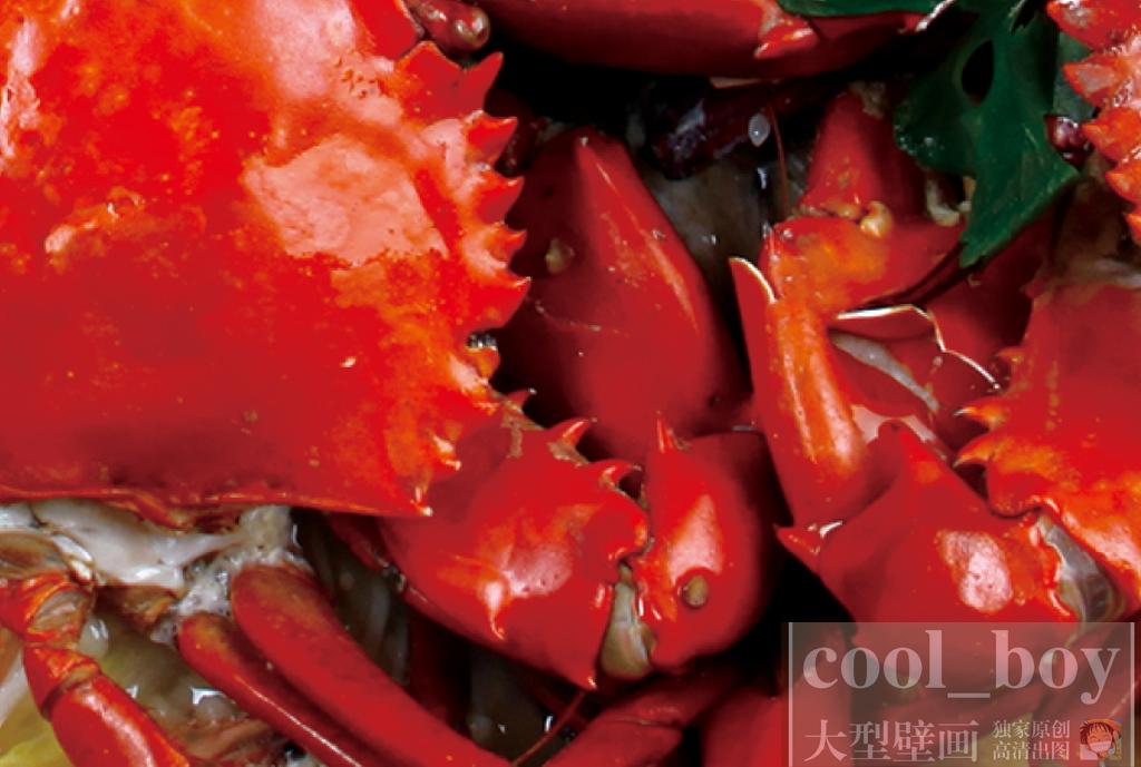 辣椒羊肉串开胃菜餐厅海鲜美食背景餐厅背景工装海鲜背景自助餐手绘美