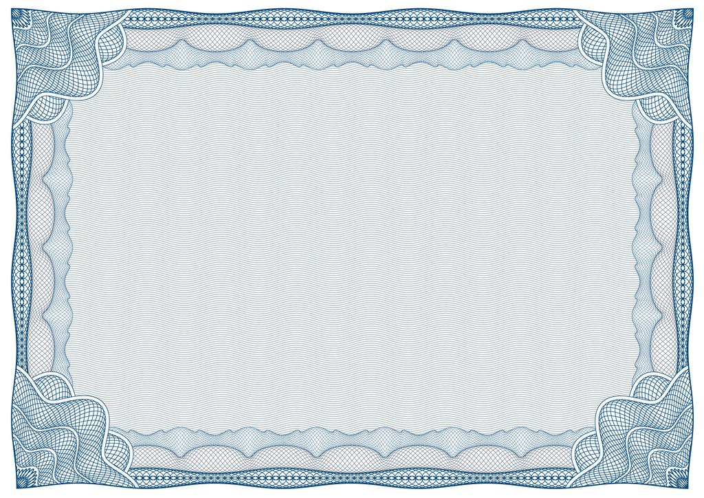 手绘奖状花边图片