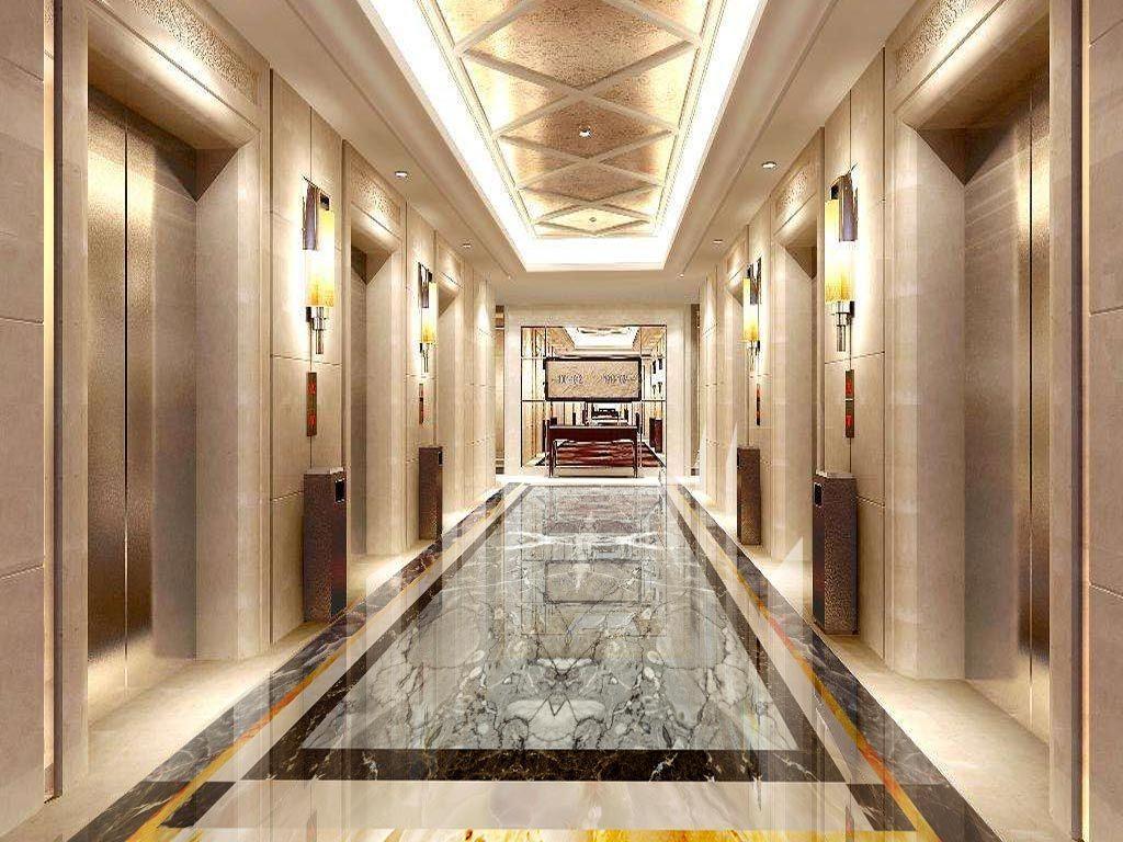 爵士灰欧式古典石纹石材大理石水刀拼花地板图片设计图片