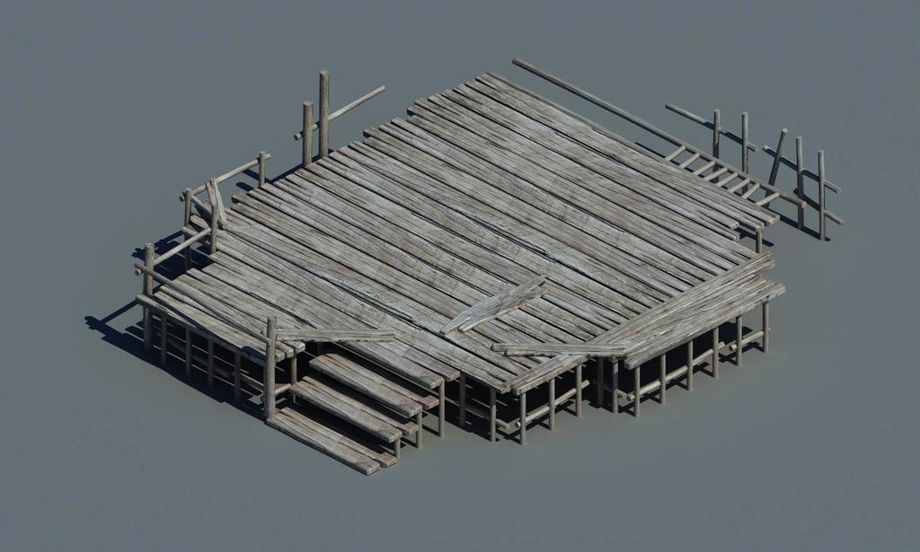 木板素材古代木地板破损木地基破旧木板